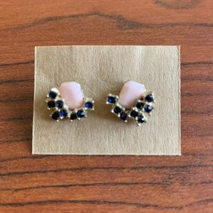 Gem Post Earrings